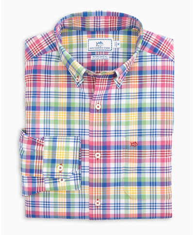 Southern Tide - Overhaul Madras Intercoastal Sport Shirt