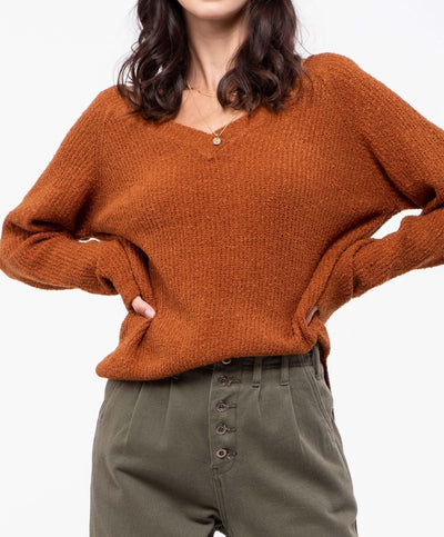 Just Chill V Neck Sweater