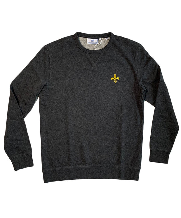 Southern Tide - Saints Gameday - Fleur De Lis Upper Deck Pullover