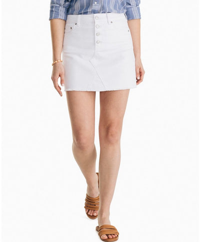 Southern Tide - Gabriela White Denim Skirt