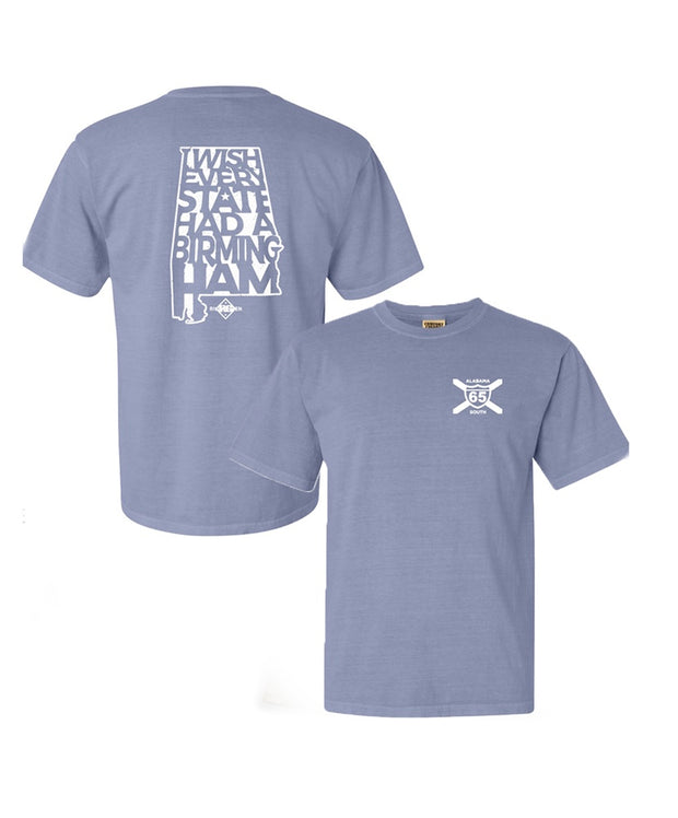 65 South - Riley Green Bham Tee