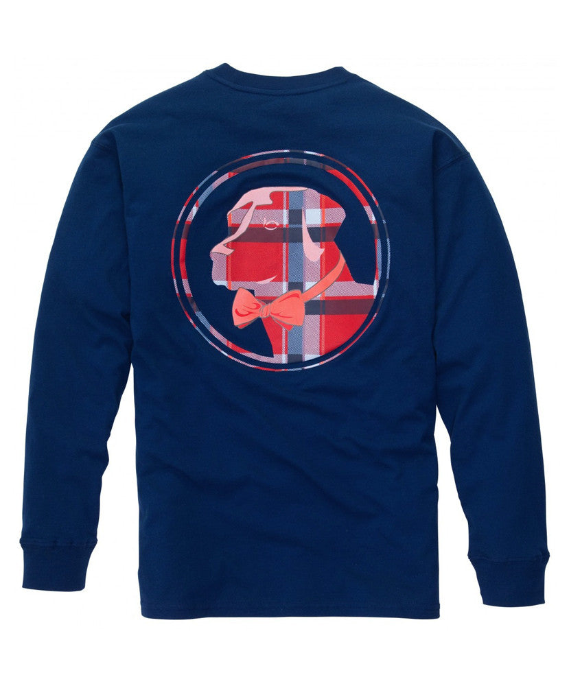 Southern Proper - Plaid Lab Long Sleeve Tee