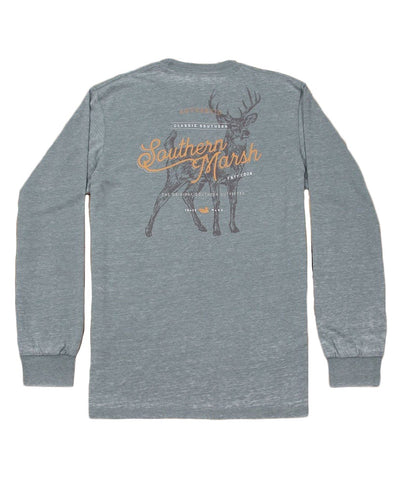 Southern Marsh - Seawash Long Sleeve Tee - Deer