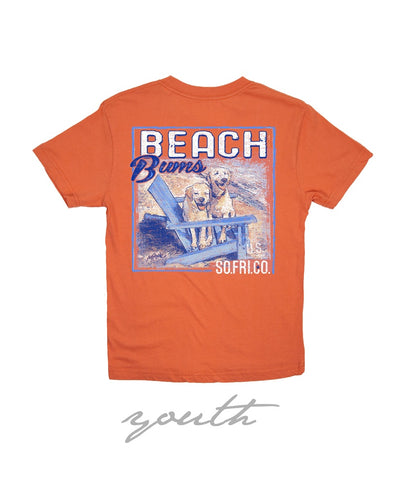 Southern Fried Cotton - Youth Beach Bums Tee