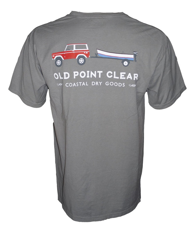 Old Point Clear - Goin' Grey Bronco Tee