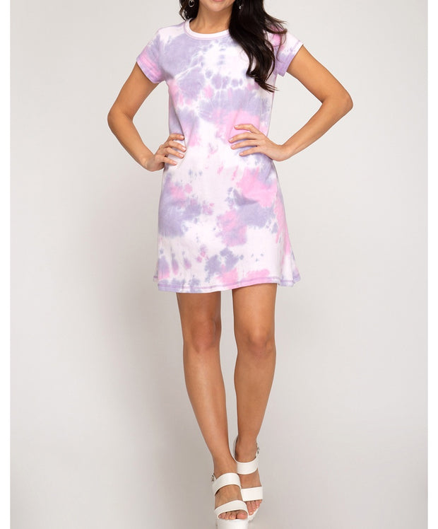 Cool Moves Tie Dye Dress