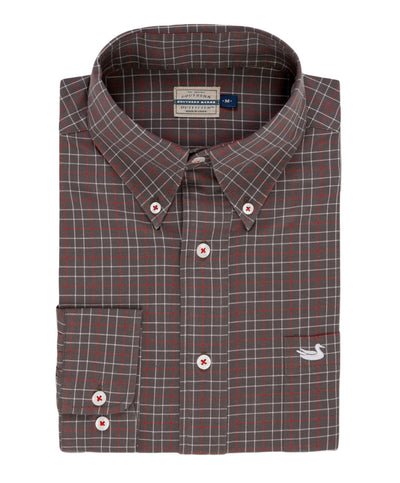 Southern Marsh - Sabine Washed Check Dress Shirt