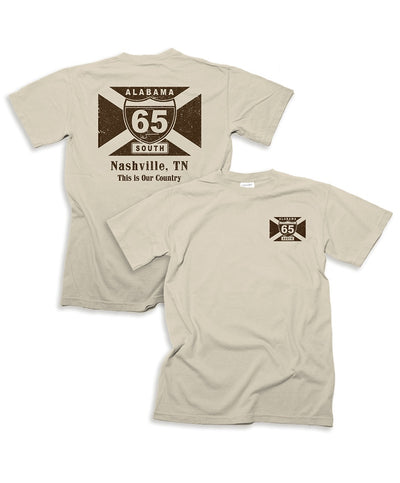 65 South - My Town - Nashville Tee