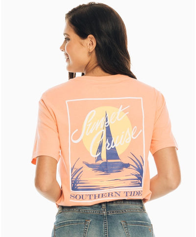 Southern Tide - Sunset Cruise Tee
