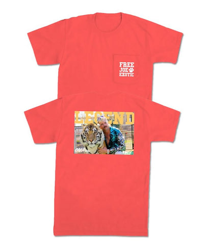 Old Row - Justice For Joe Pocket Tee