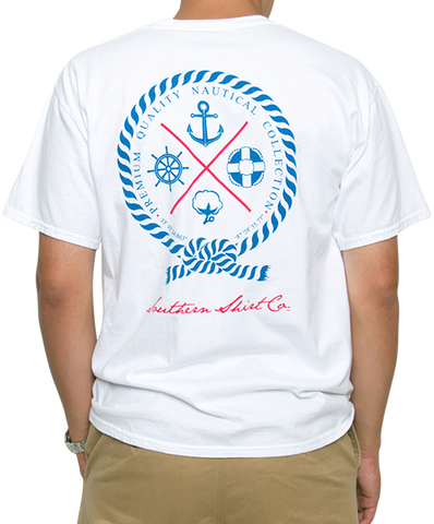 Southern Shirt Co - Nautical Rope Tee
