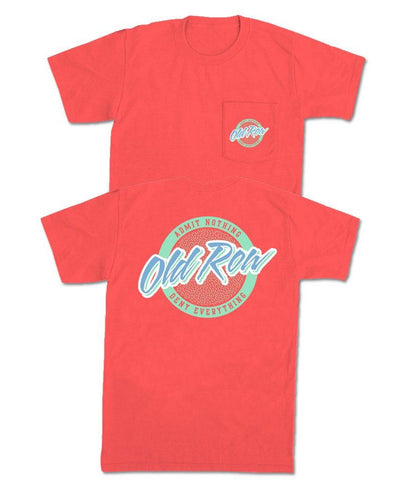 Old Row - Circle Logo Pocket Tee