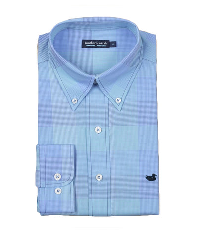 Southern Marsh - Grayson Check L/S Dress Shirt