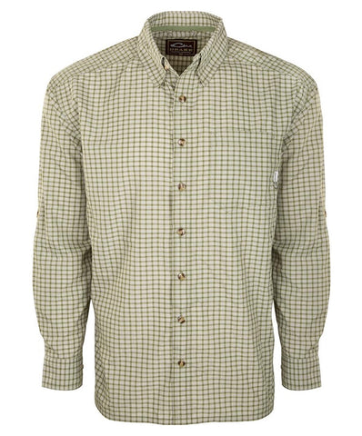 Drake - Featherlite Check Shirt Long Sleeve