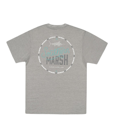 Southern Marsh - FieldTec Heathered Tee - Marlin Time