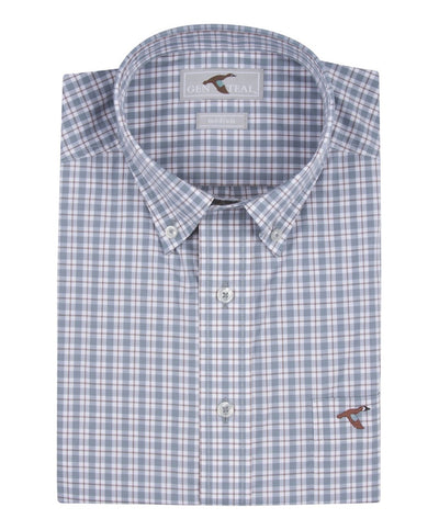 GenTeal - Plaid Button Down Shirt