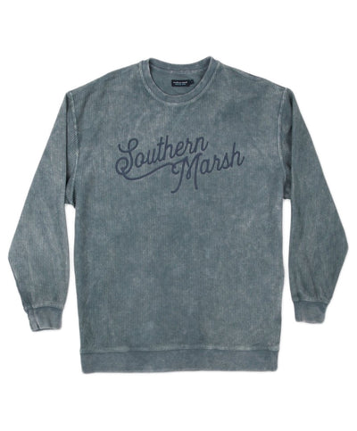 Southern Marsh - Sunday Morning Sweater - Washed Corduroy