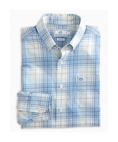 Southern Tide - Gibbes Island Plaid L/S Sportshirt