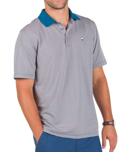 Southern Shirt Co - Belmont Stripe Polo