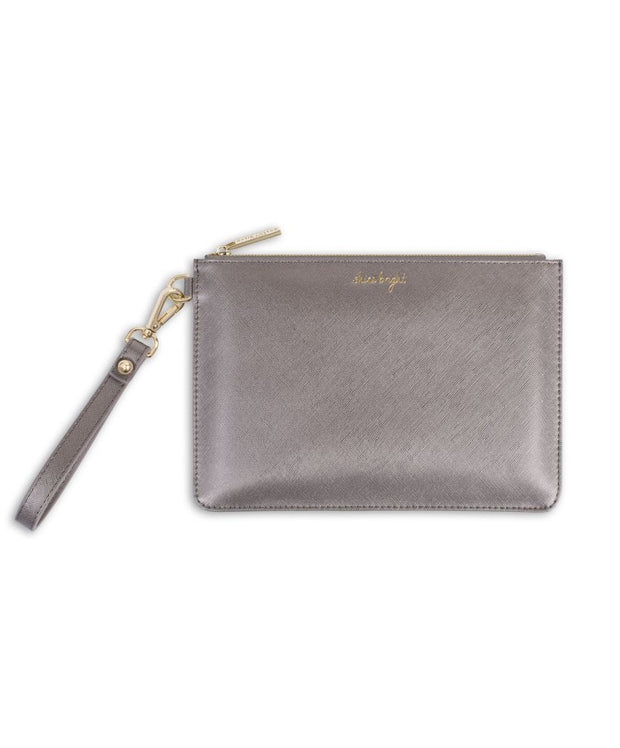 Katie Loxton - Secret Message Pouch - Shine Bright/Shine Bright Like The Star You Are!