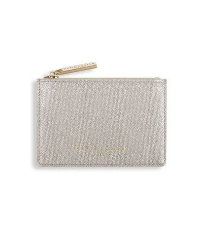 Katie Loxton - Alexa Shimmer Card Holder w/ Small Zip