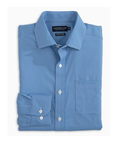 Southern Tide - Pitons Plaid IC Performance L/S Shirt