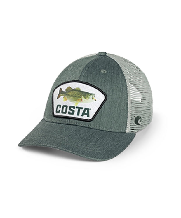 Costa - XL Fit Topo Trucker Patch Bass Hat