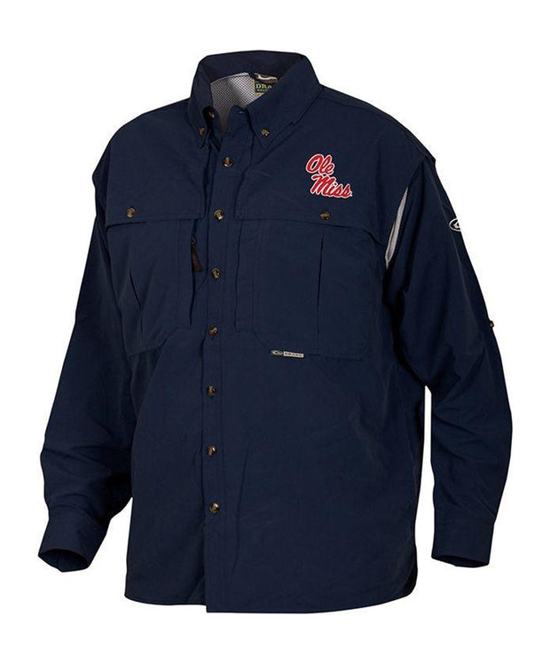 Drake - Ole Miss Wingshooter's Long Sleeve Shirt