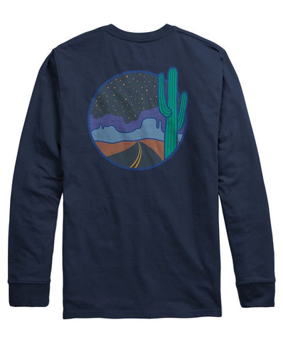 Rowdy Gentleman - Night Tripper Long Sleeve Pocket Tee