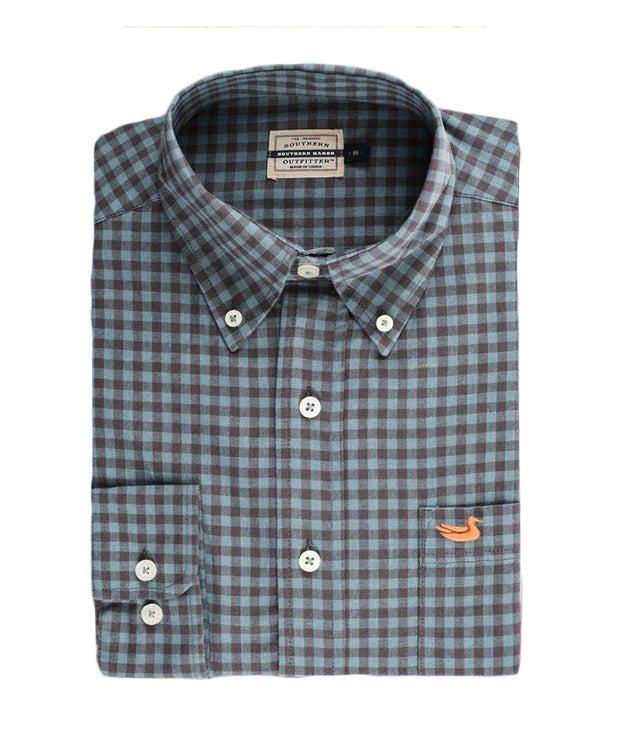 Southern Marsh - Sumner Washed Gingham Shirt