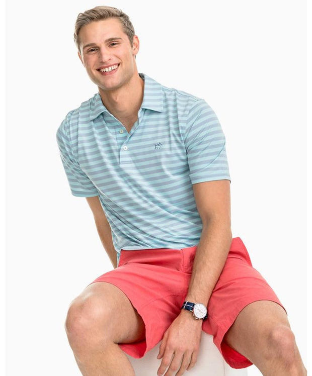 Southern Tide - Sonar Performance Striped Polo