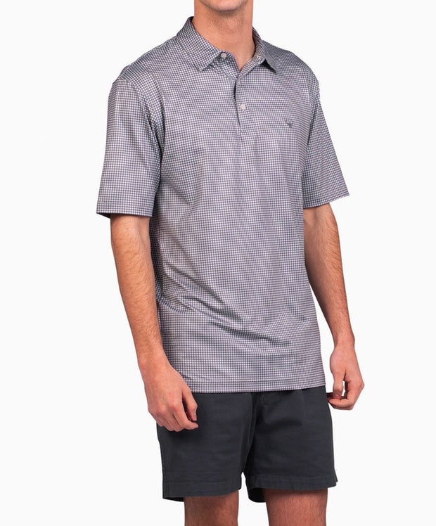 Southern Shirt Co - Sandhill Gingham Performance Polo