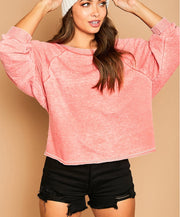 Cool Night Burnout Sweatshirt