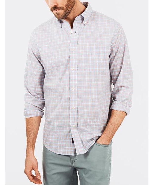 Faherty - Stretch Poplin L/S Shirt