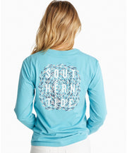 Southern Tide - School Of Fish Long Sleeve Tee