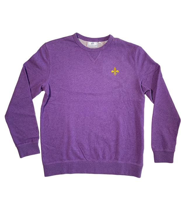 Southern Tide - LSU Gameday - Fleur De Lis Upper Deck Pullover