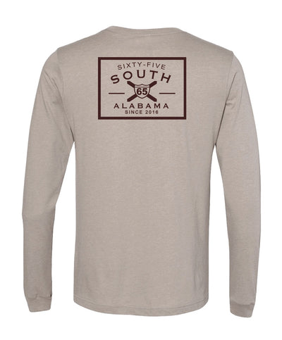 65 South - Patch Logo Long Sleeve Tee