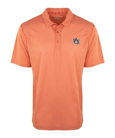 Drake - Auburn Vintage Heather Polo