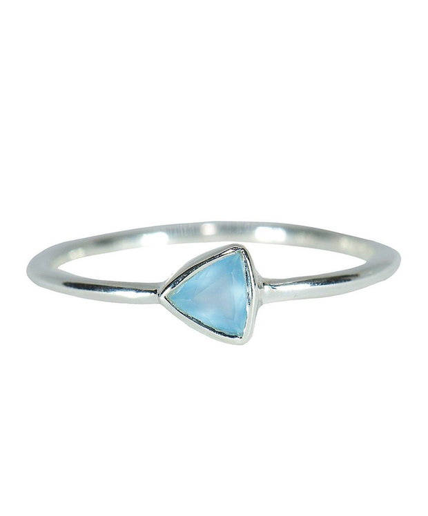 Pura Vida - Triangle Chalcedony Ring