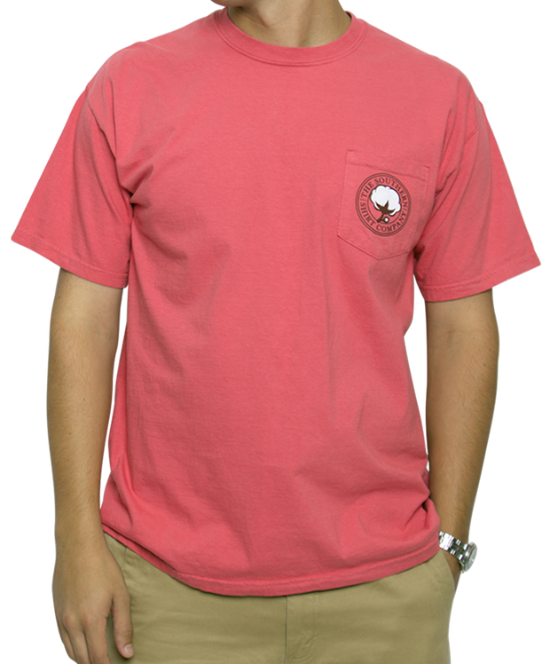 Southern Shirt Co. - Wax Seal Short Sleeve Tee - Desert Rose Front