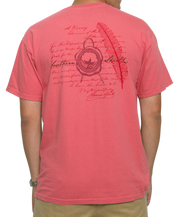 Southern Shirt Co. - Wax Seal Short Sleeve Tee - Desert Rose