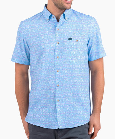 Southern Shirt Co - Lava Lamp Baja Short Sleeve Shirt