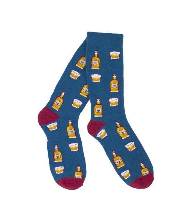 Southern Socks - Bourbon On The Rocks Socks