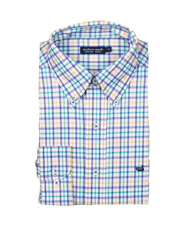 Southern Marsh - Chambers Performance Gingham Shirt