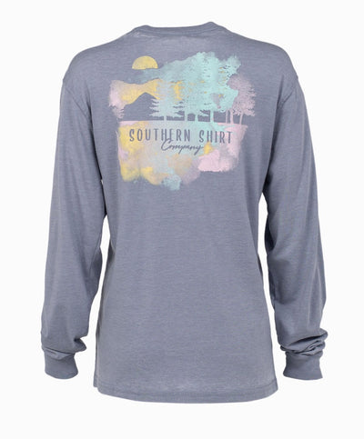 Southern Shirt Co - Misty Mountain Long Sleeve Tee