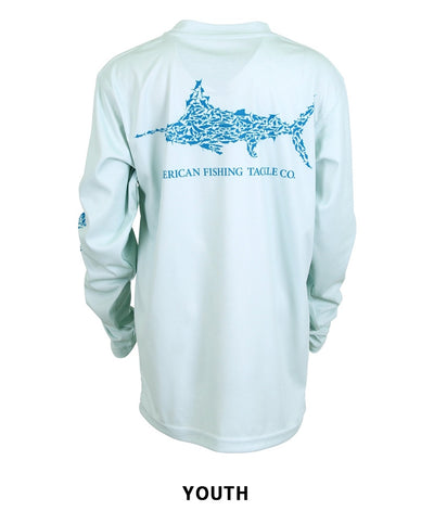 Aftco - Youth Jigfish Performance Long Sleeve