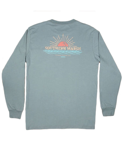 Southern Marsh - Branding - Sunset Long Sleeve Tee