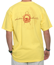 Southern Shirt Co. - Wax Seal Short Sleeve Tee - Canary