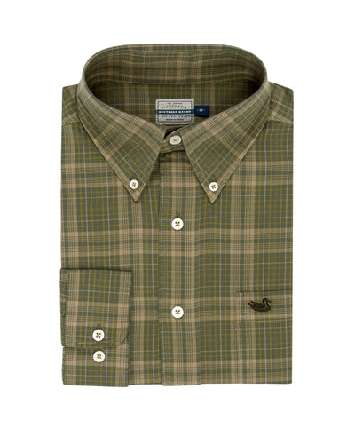 Southern Marsh - Verret Washed Check Shirt