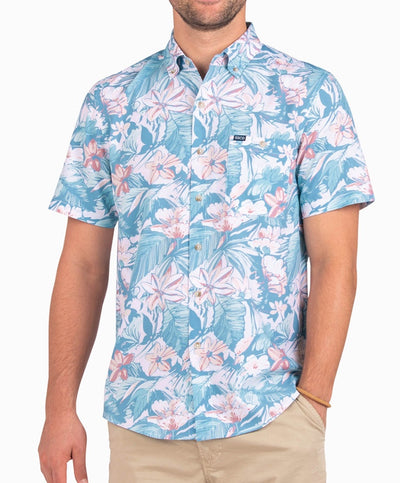 Southern Shirt Co - Coco Cabana Baja Short Sleeve Shirt